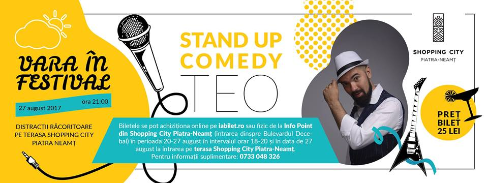 Stand Up, Show cu Teo