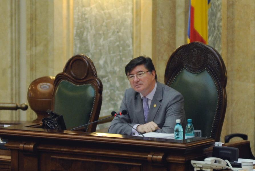 Senatorul Chelaru, șeful Senatului