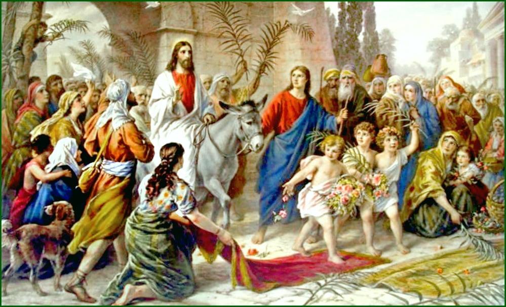 CREŞTINII ROMANO-CATOLICI CELEBREAZĂ DUMINICA FLORIILOR