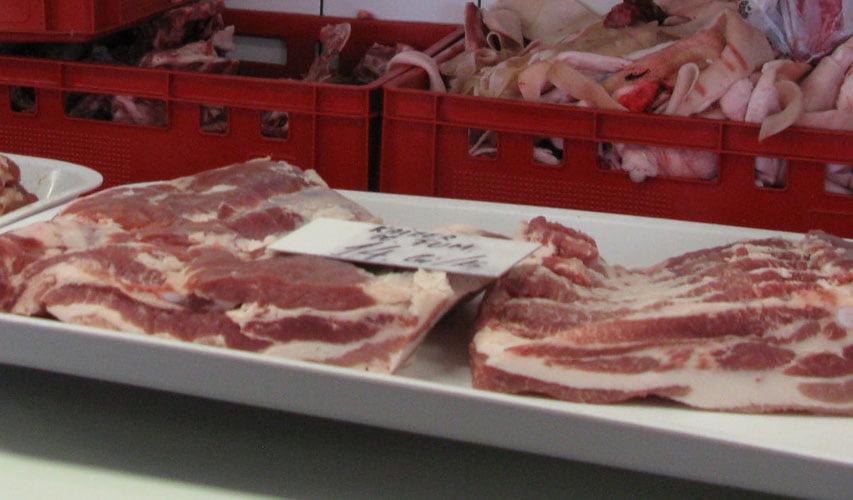 50 de kilograme de carne și pește confiscate