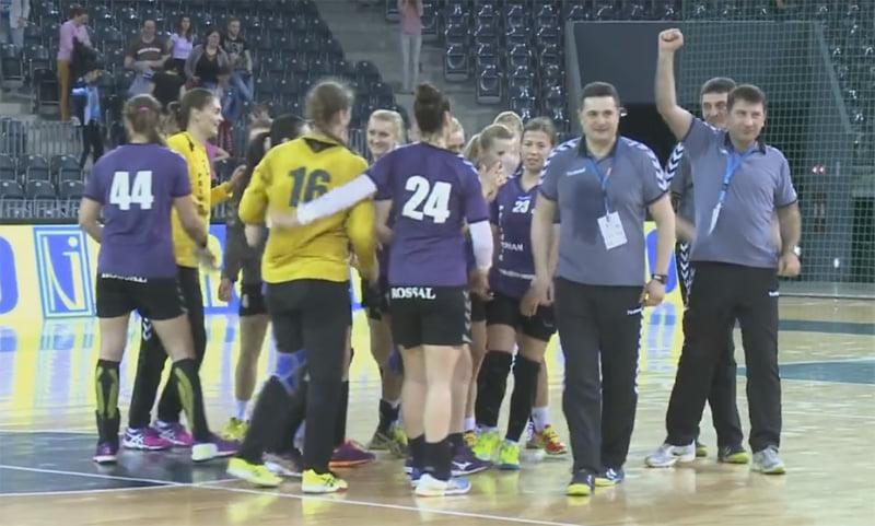 [VIDEO] Dublu succes pentru HCM Roman: finala Cupei României şi o nouă calificare în cupele europene!
