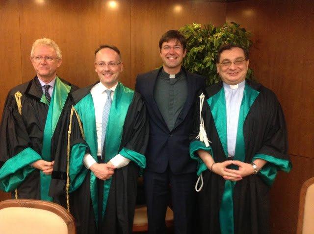 De la Tămăşeni, preot doctor în drept canonic la Universitatea Pontificală Lateran