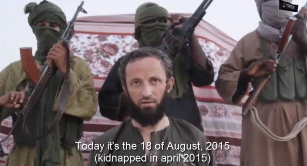 Recompensă cerută de teroriști pentru eliberarea lui Iulian Gherguț, originar din comuna Săbăoani