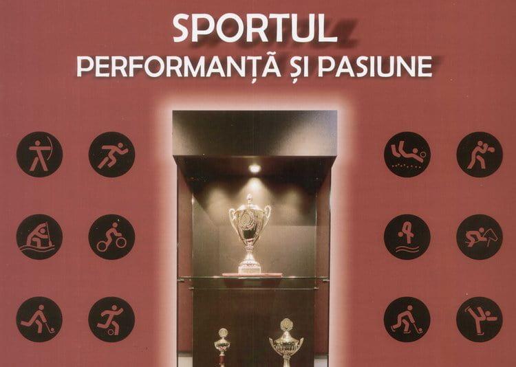 """""""Sportul, performanţă şi pasiune"""", expoziţie a trofeelor câştigate de-a lungul timpului de sportivii nemţeni"""