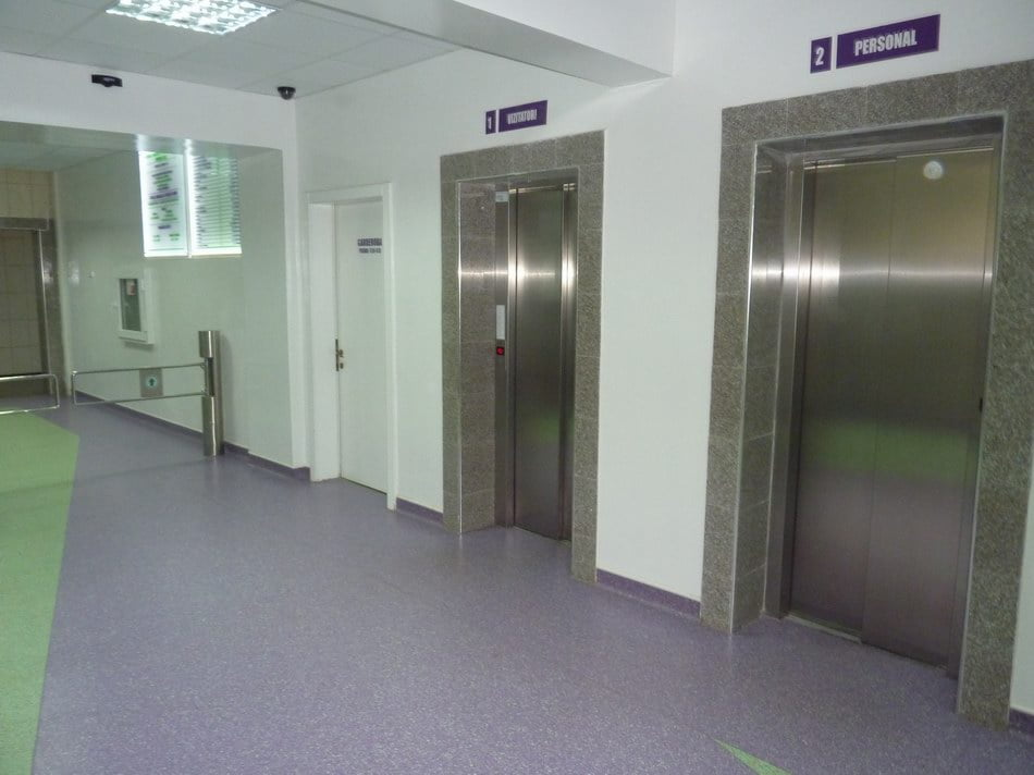 Post de promovare liftier la Spital