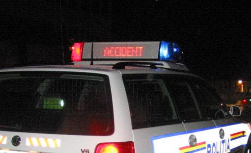 Accident rutier mortal pe E 85