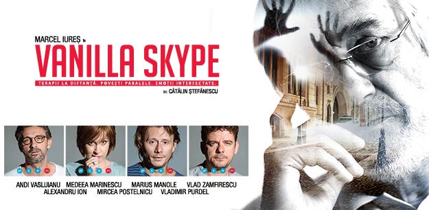[VIDEO] Vanilla Skype, primul spectacol de teatru cu casting pentru spectatori, se joacă în Piatra Neamț
