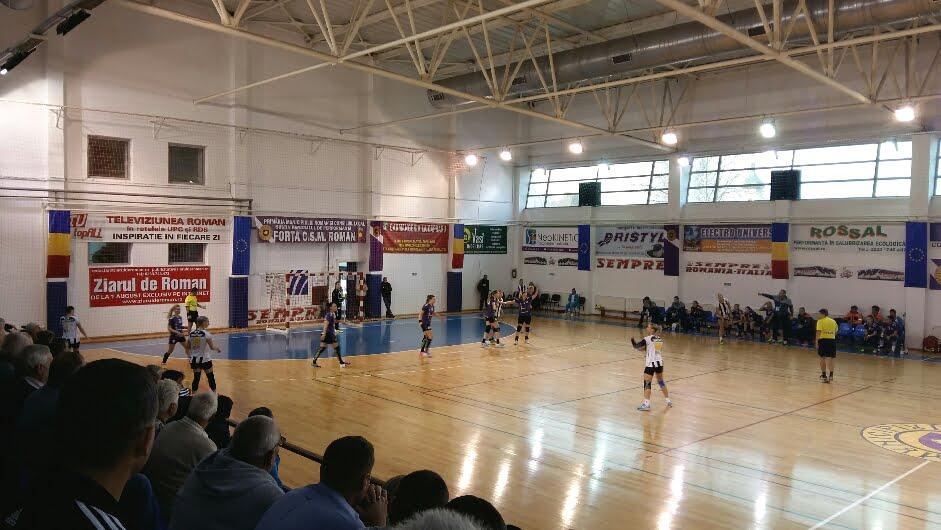 Final de campionat în Liga Națională: sâmbătă, CSM Roman – U Cluj