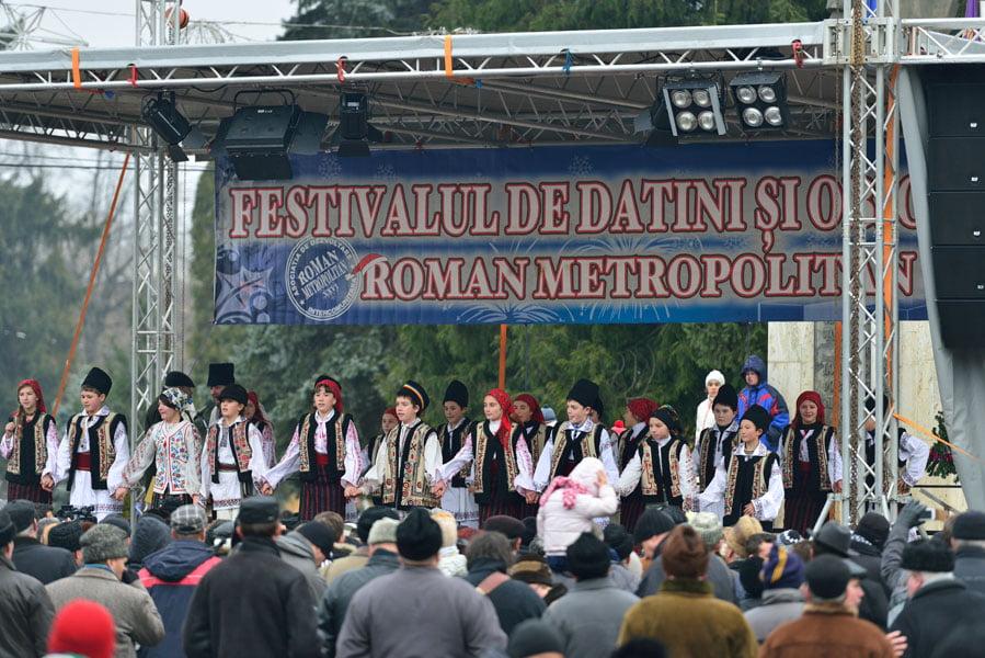 Festivalul de Datini și Obiceiuri are loc joi. Centrul orașului va fi închis
