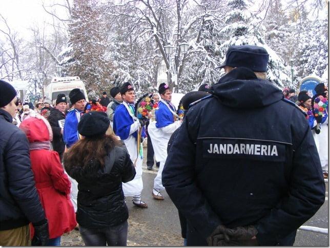 Peste 500 de poliţişti și jandarmi, la datorie de Anul Nou