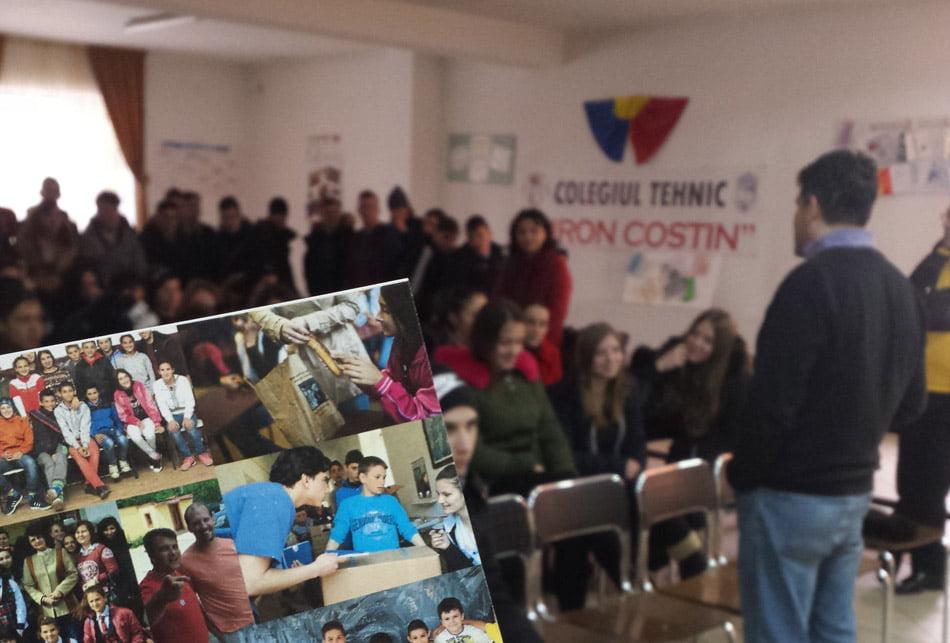 Elevi voluntari împotriva traficului de persoane