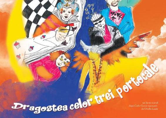 """Premieră: """"Dragostea celor trei Portocale"""", la Teatrul """"Bacovia"""""""