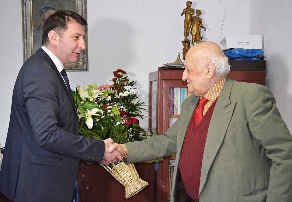 Profesorul Iancu Wexler a împlinit 84 de ani