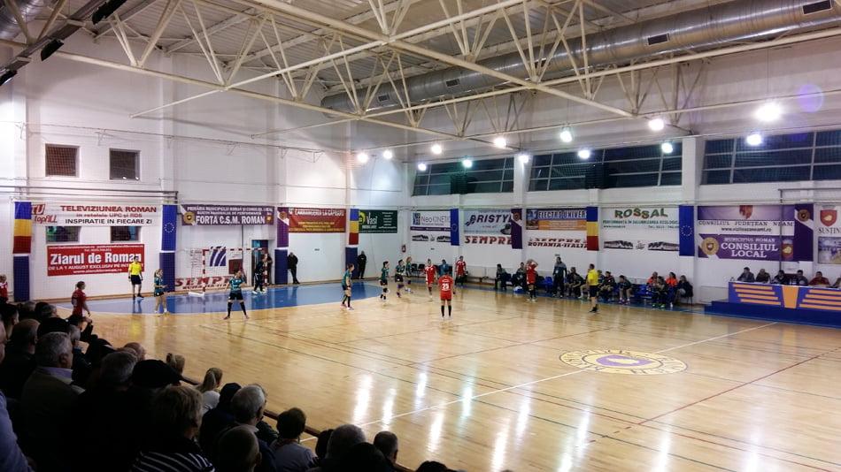 Victorie clară pentru CSM Roman la Râmnicu Vâlcea