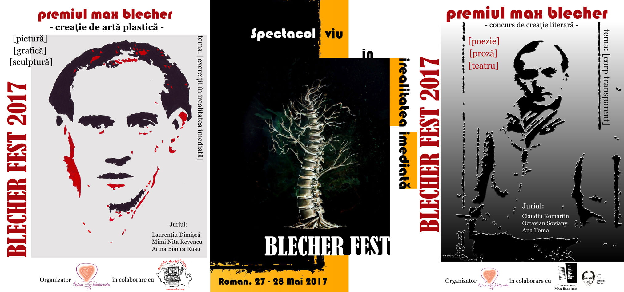 Teatru experimental, proiecție de film și expoziții de artă la Roman, în cadrul primei ediții a festivalului internațional Blecher Fest