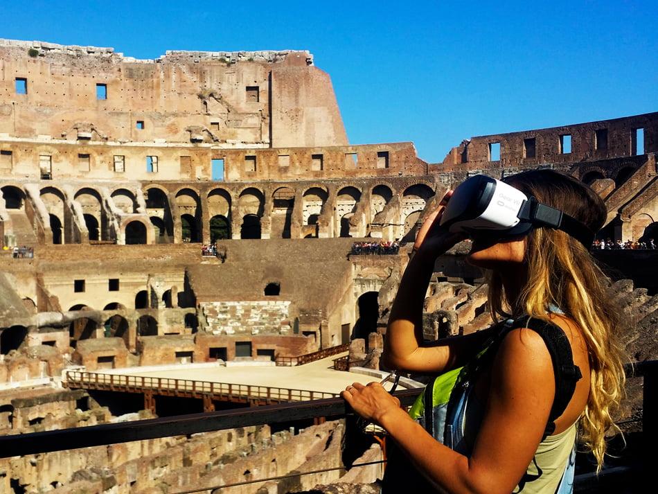 [VIDEO] O romașcană este creatoarea turului virtual al Colosseumului din Roma