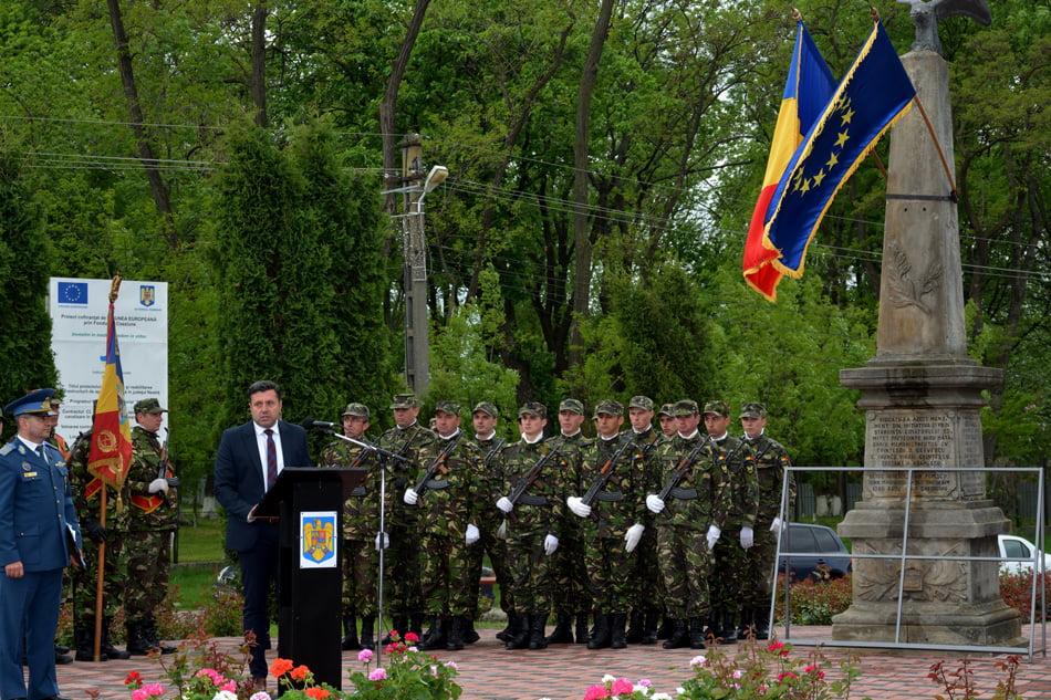Ceremonii militare şi religioase dedicate zilei de 9 mai