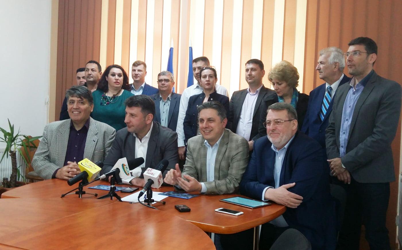 PNL a lansat oficial candidatura lui Lucian Micu pentru Primăria Roman