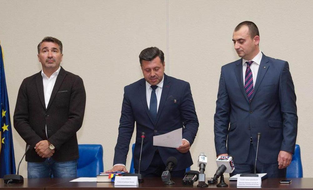 Noul prefect, Vasile Panaite, a fost învestit în funcție