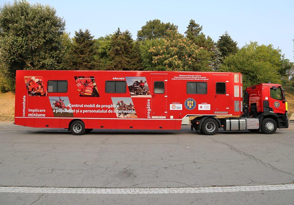 Caravana SMURD revine sâmbătă la Roman