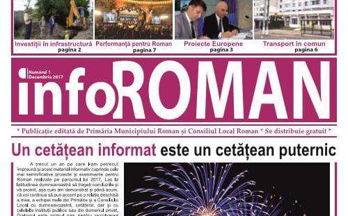Primăria Roman și-a făcut ziar – InfoRoman