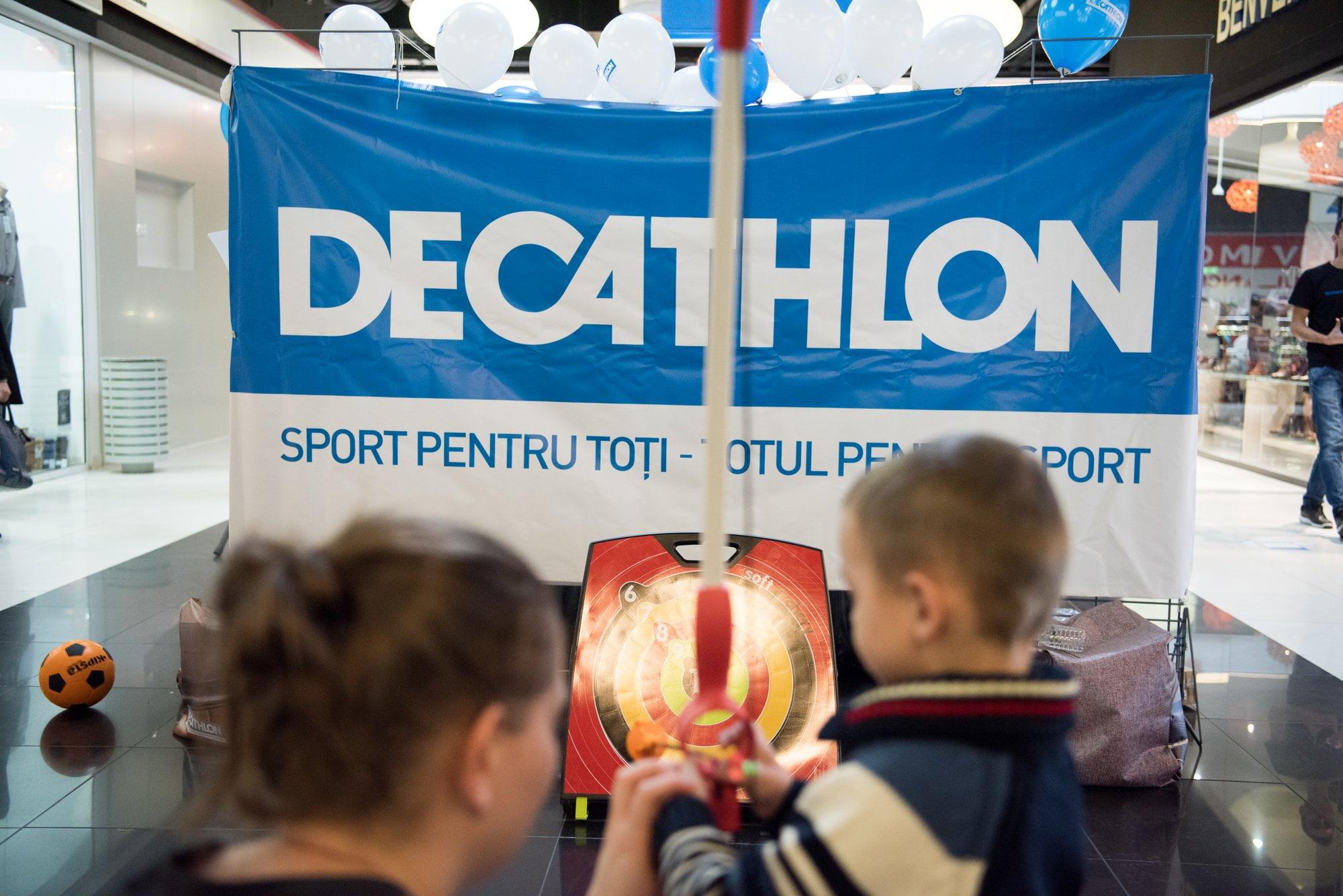 Decathlon invită locuitorii din Neamţ la sport, în weekendul dinaintea deschiderii primului magazin din județ