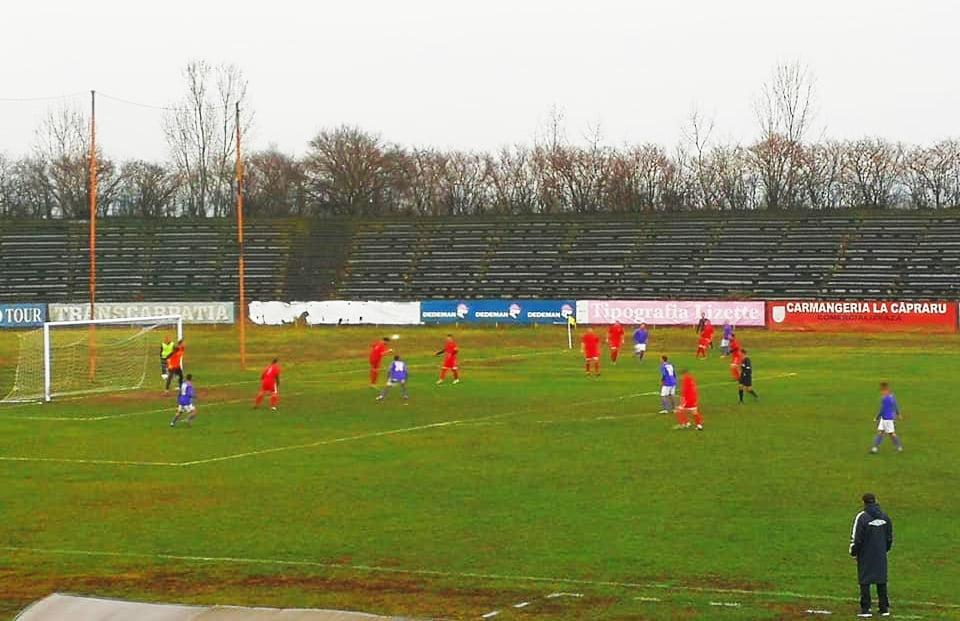 Victorie pentru fotbaliștii CSM Roman, în ultimul meci al anului