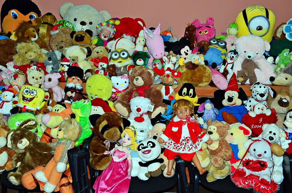 Apel pentru donații de jucării destinate copiilor din Pâncești