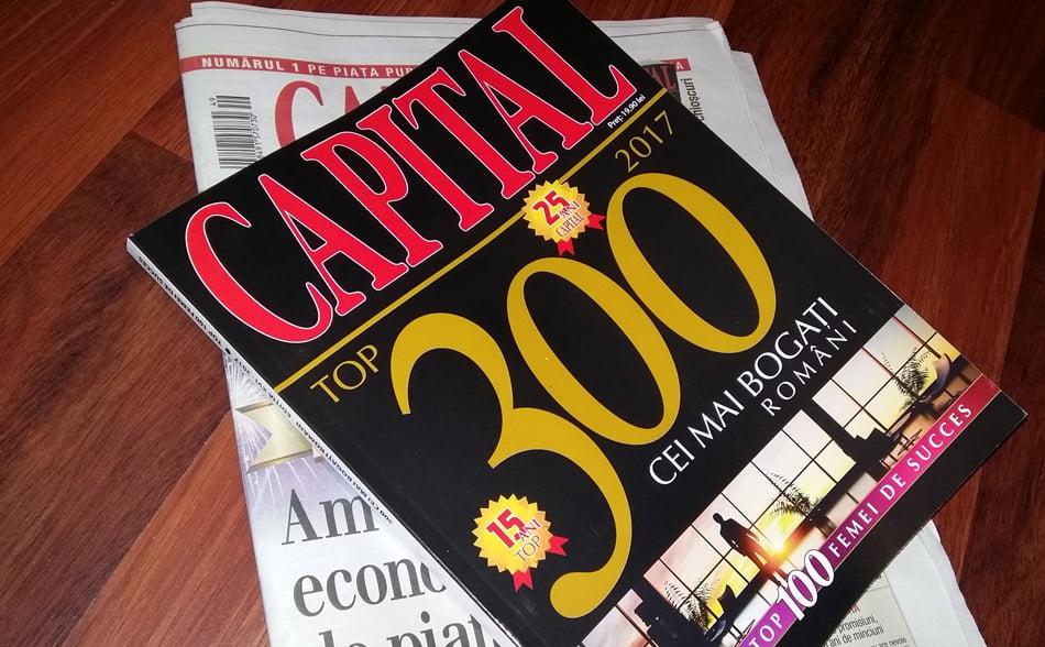 Top 300 Capital: cine sunt cei mai bogați oameni de afaceri din Neamț