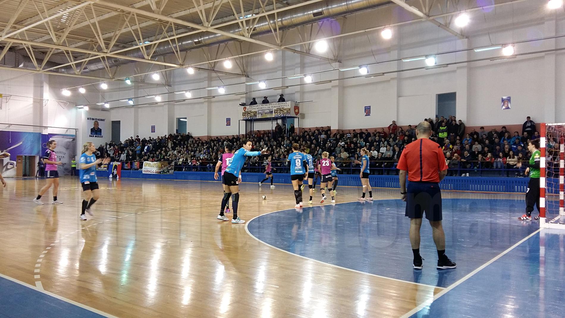 Un meci cât un sezon: CSM Roman întâlnește CSM București, în semifinalele Cupei României