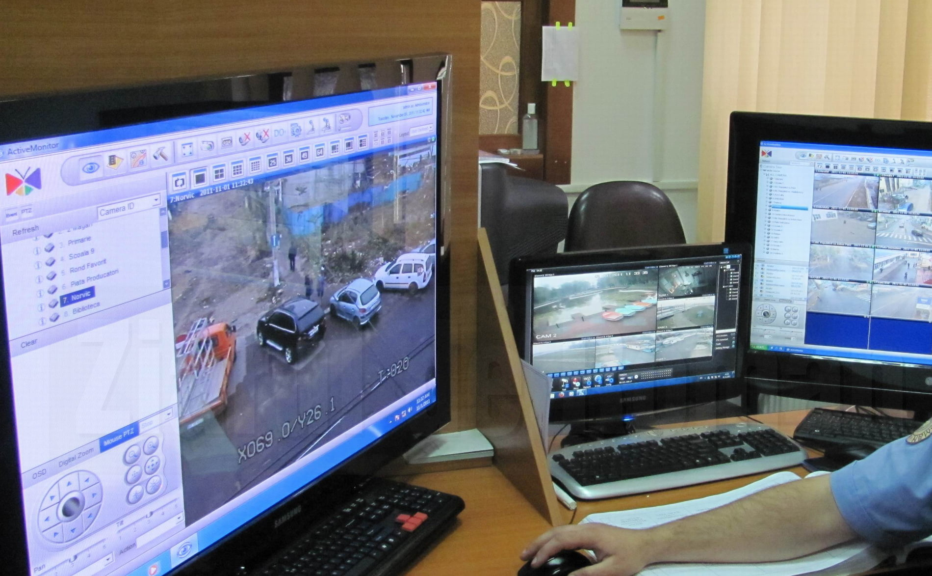 """""""Big-Brother"""" se extinde în Roman cu încă opt camere video de supraveghere"""