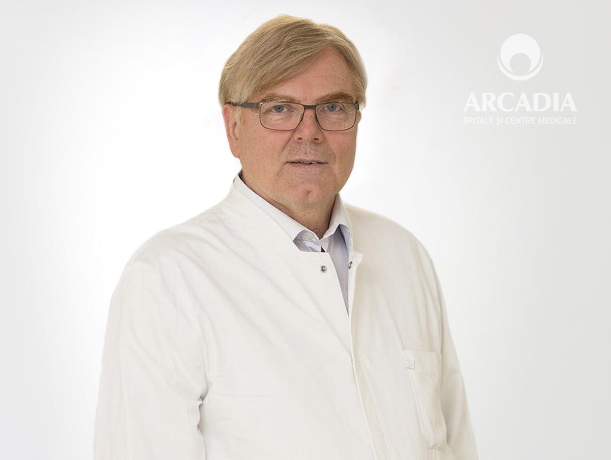 Renumitul chirurg ortoped Prof. Dr. Wilhem Friedl revine la Arcadia