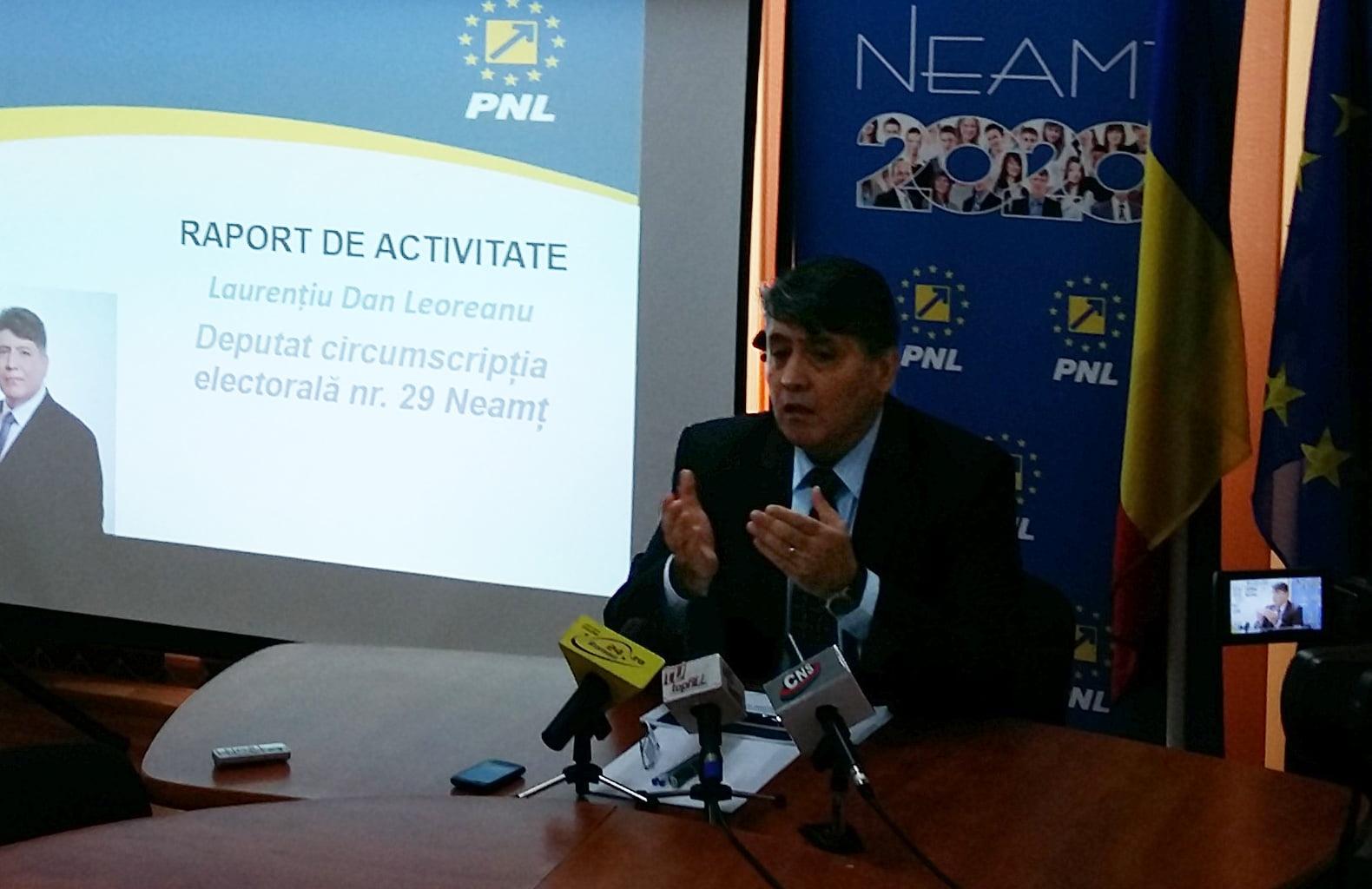 Deputatul Laurențiu Leoreanu a prezentat raportul de activitate după un an de mandat