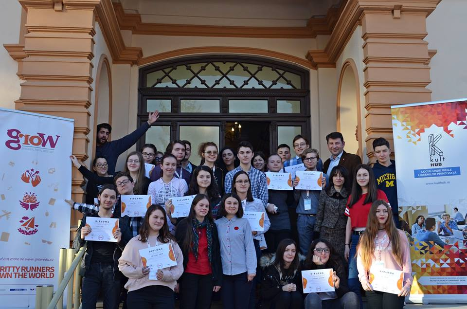 S-a încheiat a doua ediție a proiectului GROW pentru liceenii din Roman