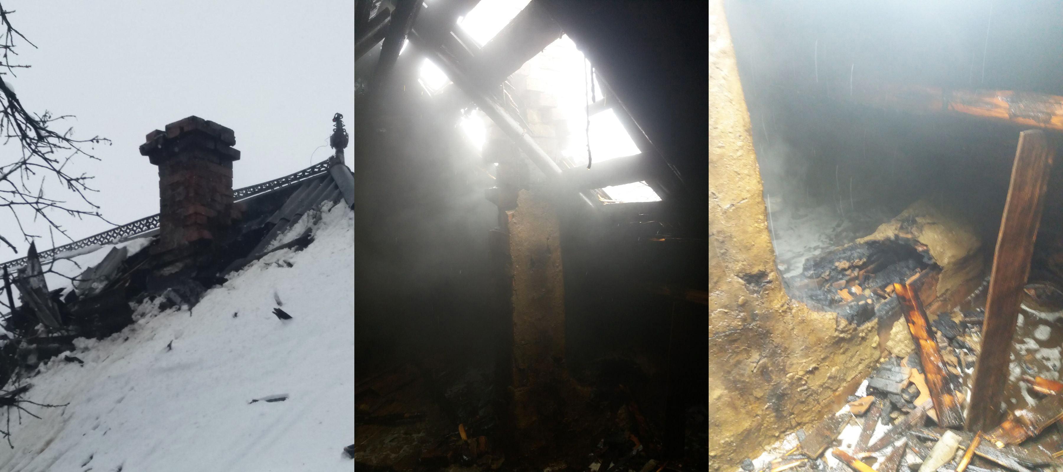 Incendiu la o gospodărie din satul Ion Creangă