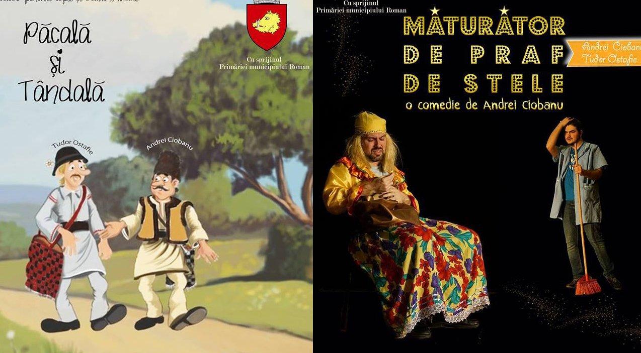 Spectacole de comedie pentru cei mari și pentru cei mici, pe scena Casei de Cultură