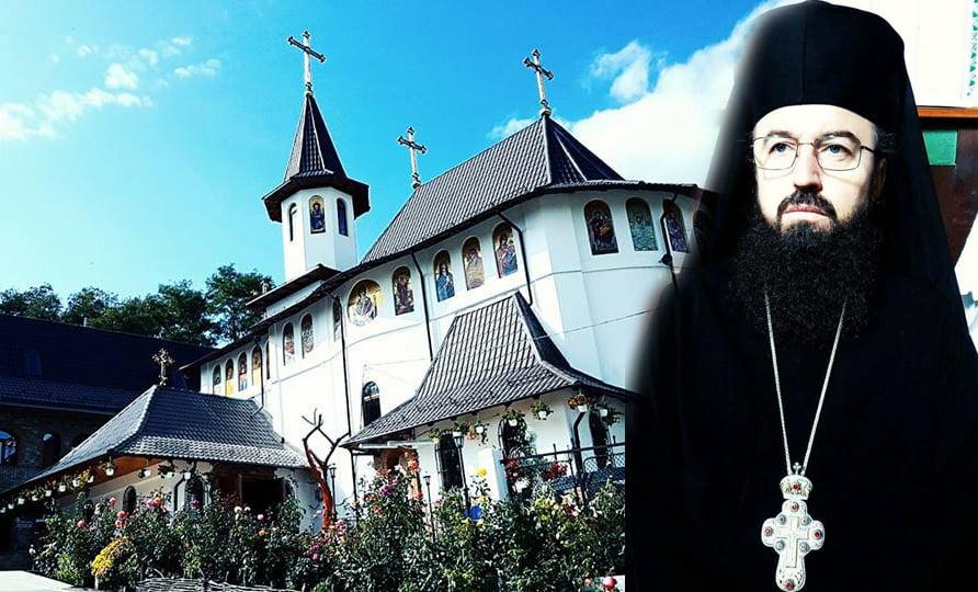 Părintele stareț de la Mănăstirea Giurgeni, Antonie Jeflea, a urcat la Cer