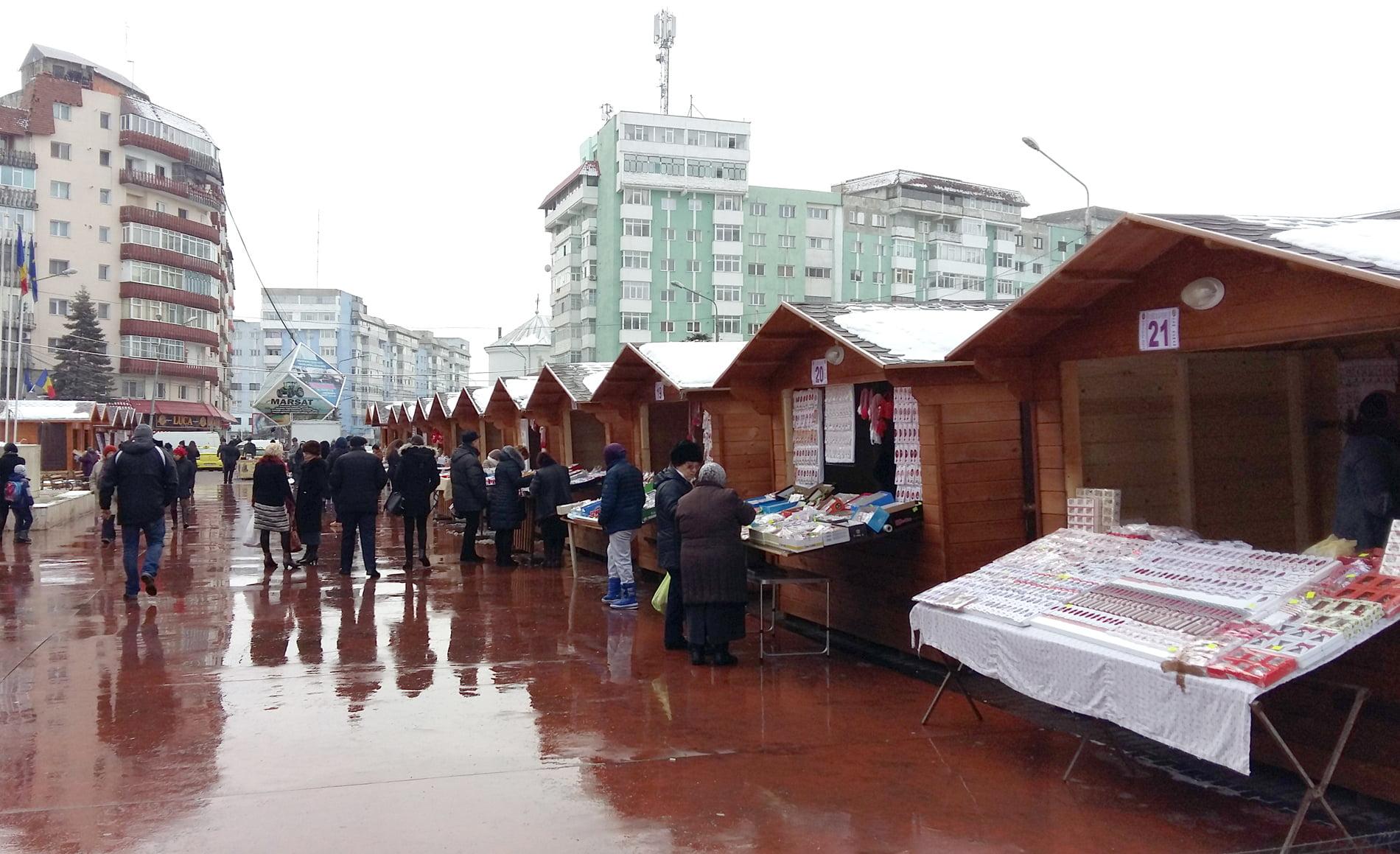Miercuri se trag la sorți căsuțele pentru Târgul de Mărțișor