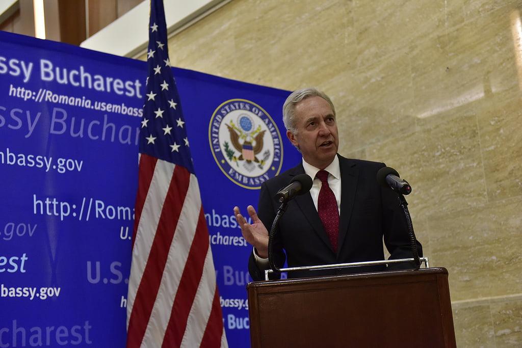 Ambasadorul SUA în România vizitează județul Neamț