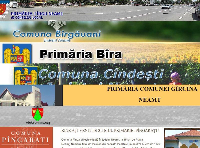 Denumiri noi pentru mai multe localități din Neamț