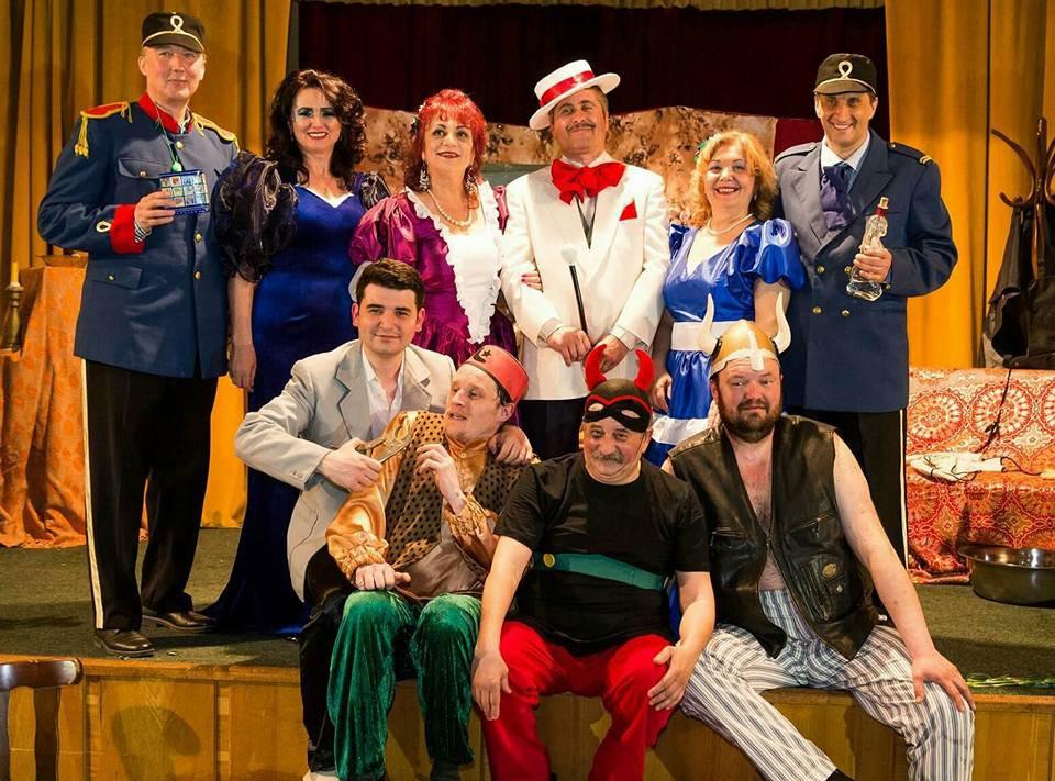 """Teatrul """"Dan Alecsandrescu"""" prezintă luni comedia """"D-ale carnavalului"""""""