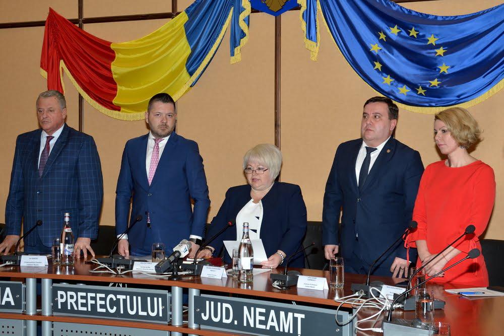 Daniela Soroceanu a fost învestită marți în funcția de prefect al județului Neamț