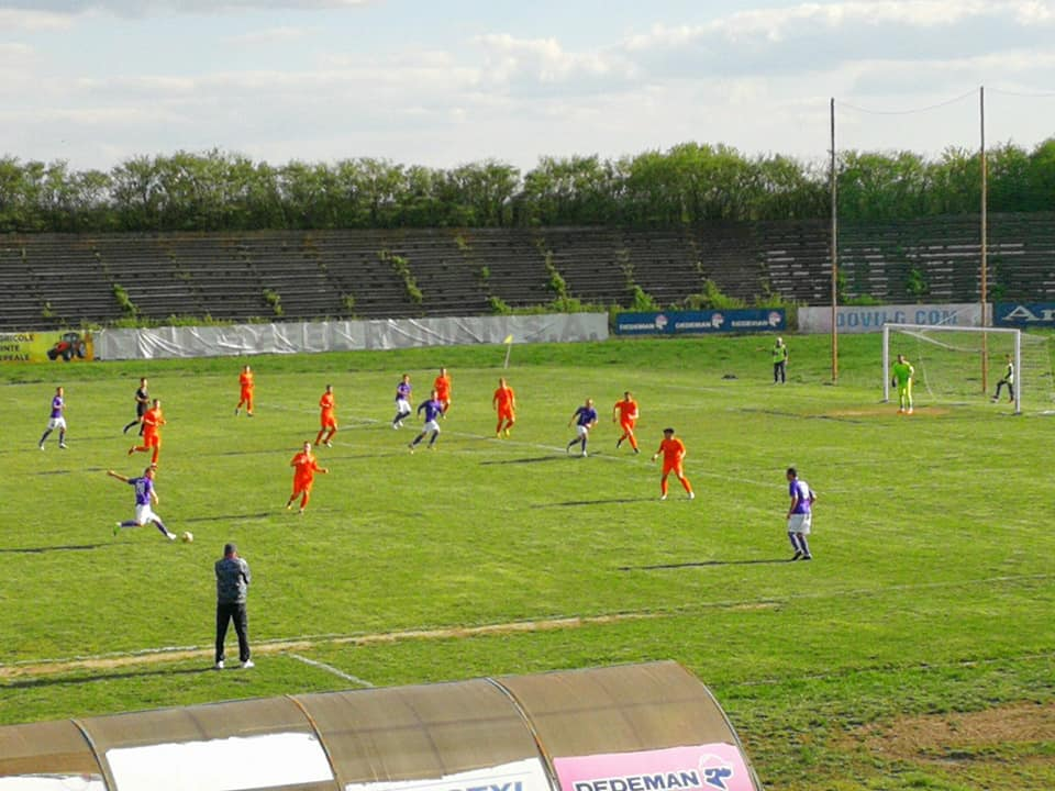 CSM Roman pierde pe teren propriu în fața AFC Hărman