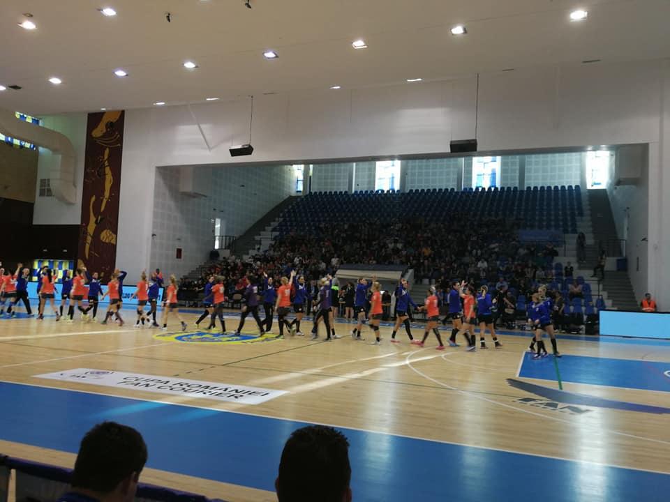 CSM Roman s-a oprit în semifinalele Cupei României la handbal feminin