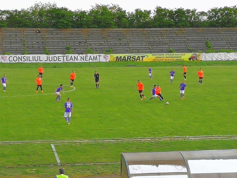 Săptămână cu două înfrângeri pentru fotbaliștii CSM Roman