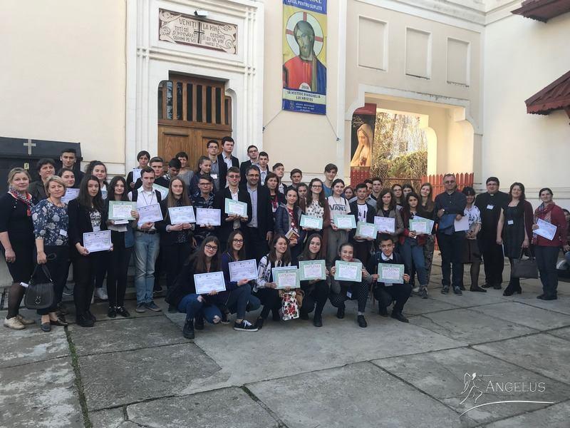 Premii pentru elevii din Pildești, Săbăoani și Roman, la Olimpiada Națională de Religie catolică
