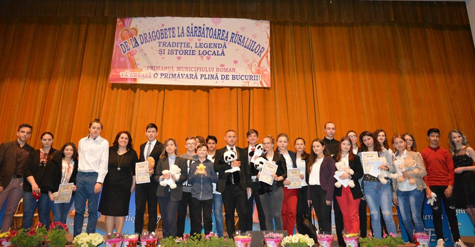 """Câștigătorii spectacolului concurs """"De la Dragobete la sărbătoarea Rusaliilor"""""""
