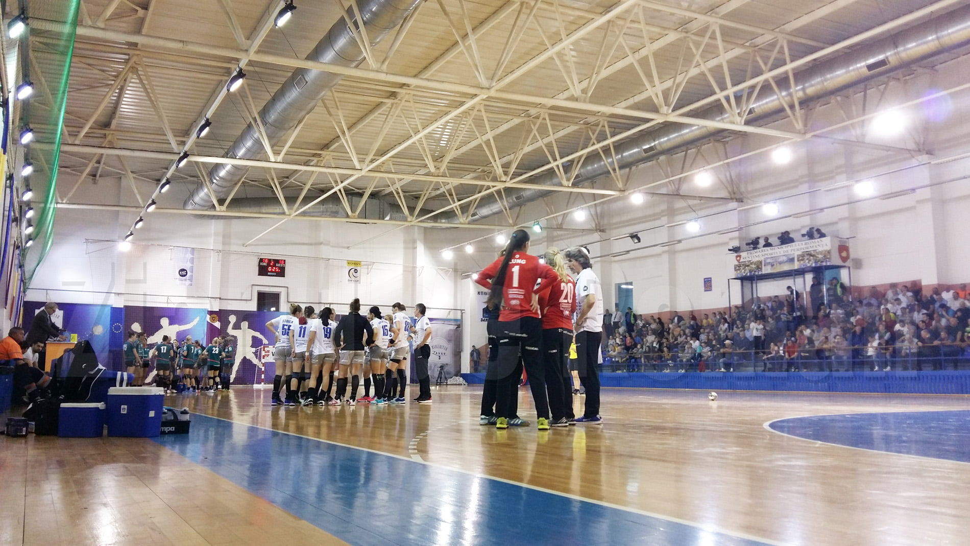 Se pun în vânzare abonamentele pentru meciurile echipei de handbal CSM Roman