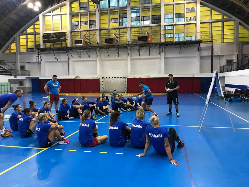 Handbalistă a echipei CSM Roman, convocată la lotul național