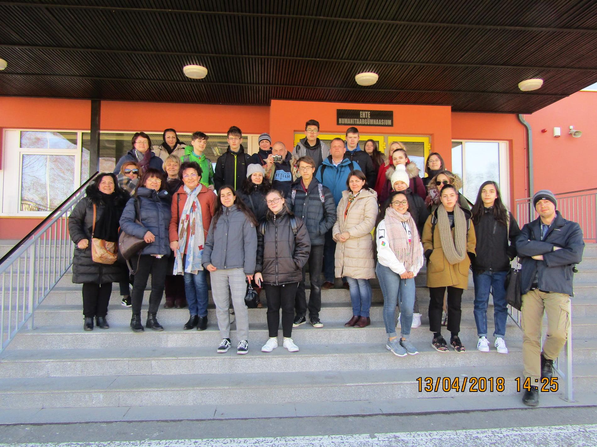 """Proiect Erasmus al Liceului Tehnologic """"Vasile Sav"""", pe malul Mării Baltice"""